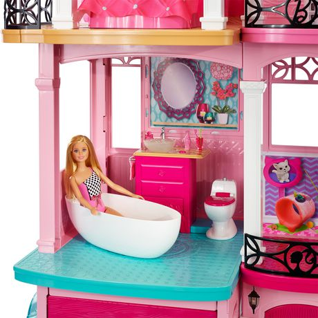 coffret de jeu mattel maison de r ve de barbie. Black Bedroom Furniture Sets. Home Design Ideas