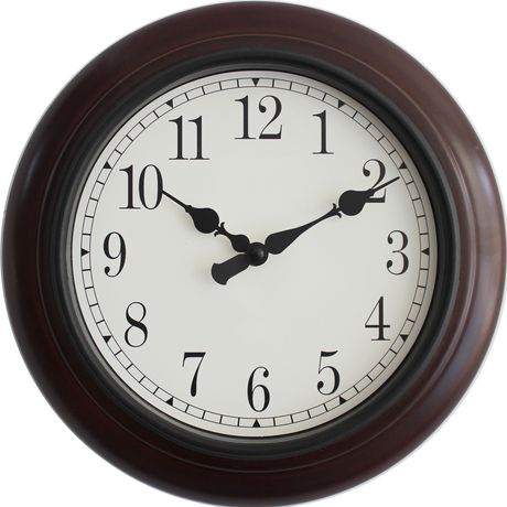 wall clocks large kitchen clocks for home walmart canada rh walmart ca
