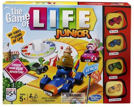 Hasbro Gaming The Game Of Life Junior Game English Version