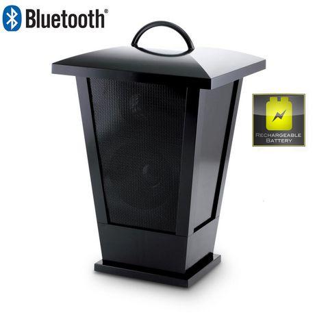 Fine life audio haut parleur lanterne sans fil bluetooth for Haut parleur exterieur