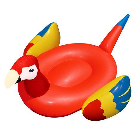 Jouet de piscine gonflable en forme de perroquet g ant de 93 po de swimline walmart canada - Walmart matelas gonflable ...