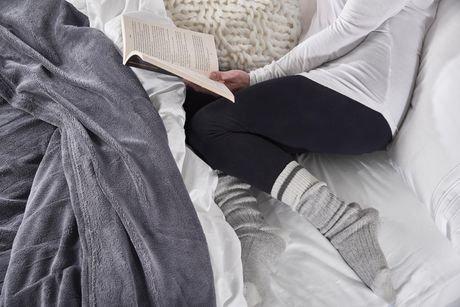 Couverture chauffante en micro peluche pour lit 1 place de sunbeammd walmart canada - Couverture chauffante lit ...