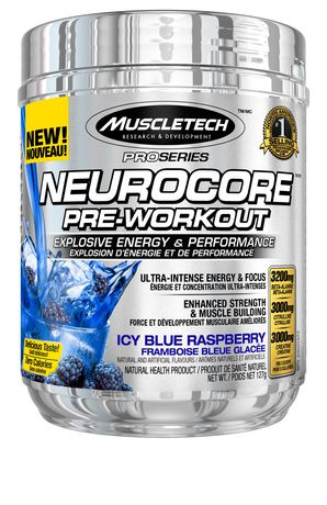 Muscletech neurocore pre workout