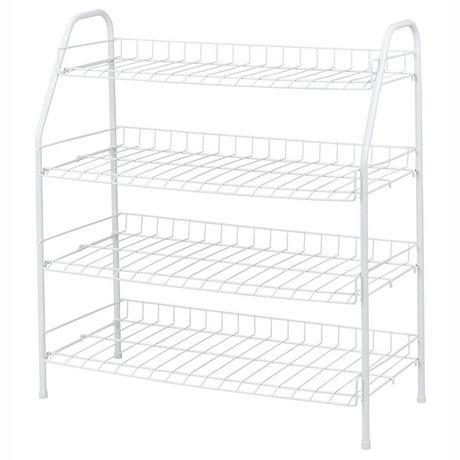 Plastic Standing Hanging Shoes Rack Holder Home Organizer Storage Adjustable Home, Furniture & DIY