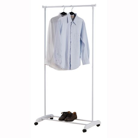 Single Rod Garment Rack Walmart Ca