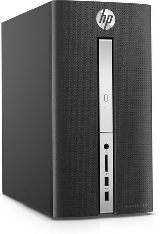 ordinateur de bureau de hp pavilion avec processeur coremc i7 6700t d 39 intel 2 80ghz et windows. Black Bedroom Furniture Sets. Home Design Ideas