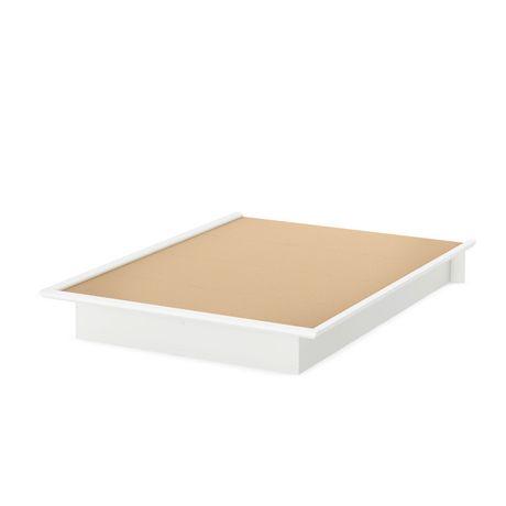 lit plate forme double de 54 po collection soho de meubles south shore. Black Bedroom Furniture Sets. Home Design Ideas