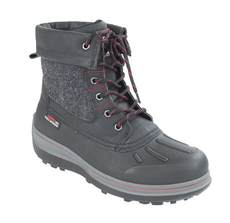 Canadiana Men's 'Smith' Lace Up Winter Boots   Walmart.ca