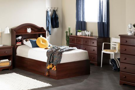 south shore summer breeze collection twin mates bed. Black Bedroom Furniture Sets. Home Design Ideas