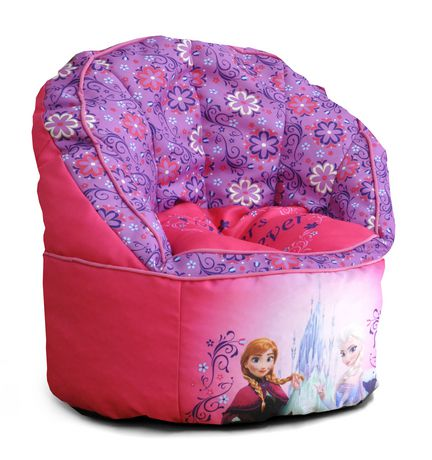 fauteuil poire motif la reine des neiges de disney. Black Bedroom Furniture Sets. Home Design Ideas
