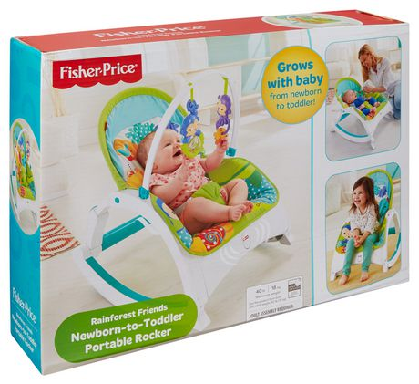 Fisher Price Newborn To Toddler Rocker Instructions