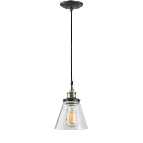 Globe electric 65215 luminaire suspendu 1 lumi re edison for Globe luminaire interieur