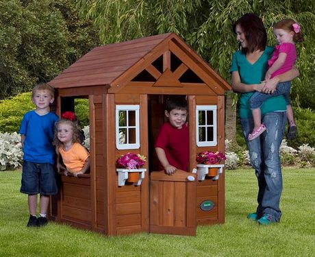 Wood Playhouse $124 + Shipping from $39 @ Walmart