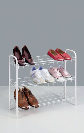 Click here for Metaltex Slimmer Scarpa 3-Tier Shoe Organizer prices