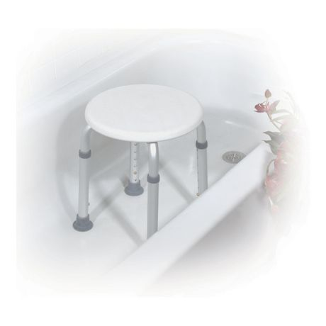 tabouret de baignoire blanc hauteur r glable de drive. Black Bedroom Furniture Sets. Home Design Ideas