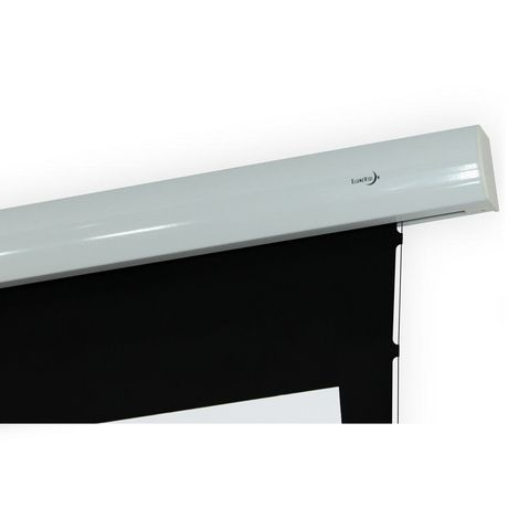 Elunevision titan motorized tab tensioned projector screen for Tab tensioned motorized projection screen