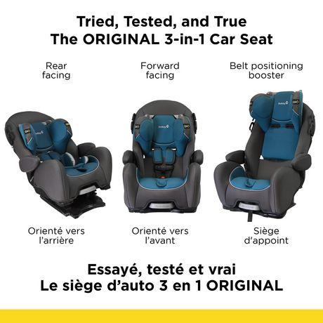 safety 1st alpha omega elite air akron blue car seat. Black Bedroom Furniture Sets. Home Design Ideas