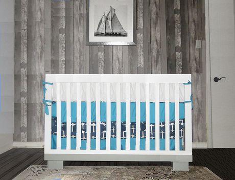 Concord Baby Metro 4 In 1white Grey Baby Crib Walmart Ca