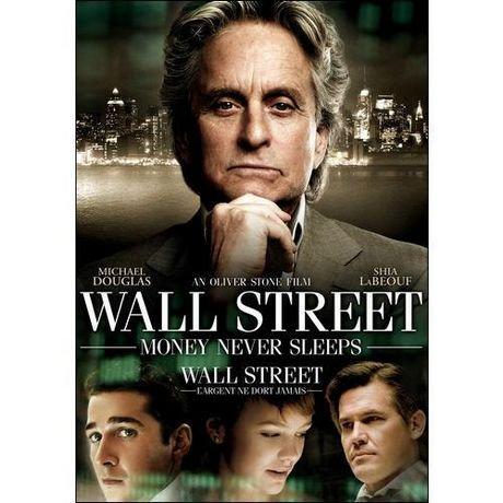 Wall street money never sleeps movie poster