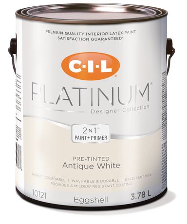 Cil Platinum Interior Paint Pre Tinted Antique White L