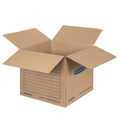 fellowes bankers box smoothmove classic moving boxes small walmart canada. Black Bedroom Furniture Sets. Home Design Ideas