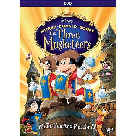 Mickey donald dingo les trois mousquetaires dition - Donald et dingo ...