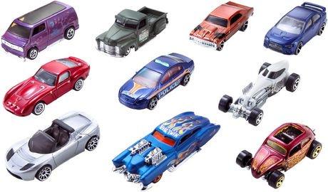 hot wheels assorted 10 car pack walmart canada. Black Bedroom Furniture Sets. Home Design Ideas