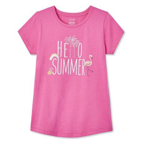 6da57f90b Girls Graphic Tees   Walmart Canada