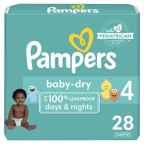 Couches baby dry de pampers walmart canada - Couches pampers baby dry ...