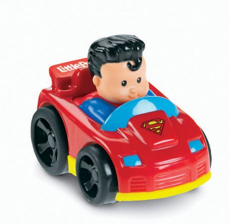 Fisher price little people voiture superman wheelies - Superman en voiture ...