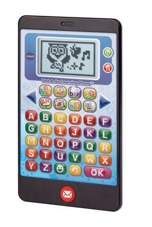 Vtech Vtech Text & Go Learning Phone- English Version Black