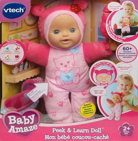 Baby Amaze Peek & Learn Doll | MomMomOnTheGo.com