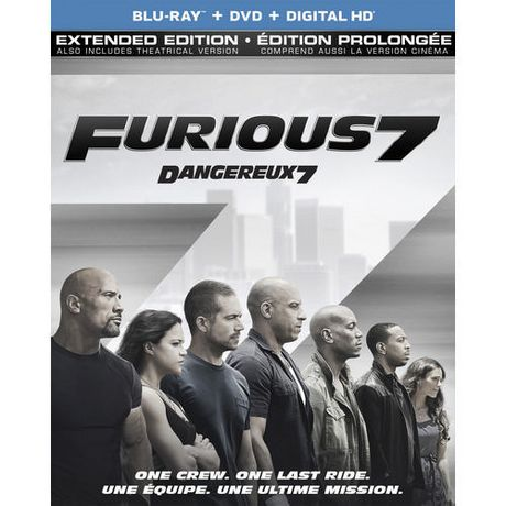furious 7 extended edition bilingual. Black Bedroom Furniture Sets. Home Design Ideas