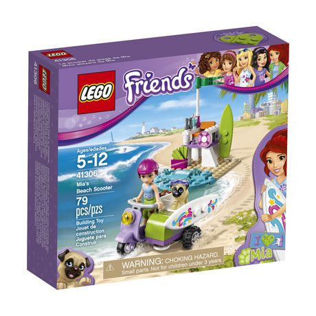 Click here for Lego Friends Mias Beach Scooter (41306) prices