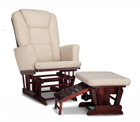 chaise ber ante avec tabouret d allaitement sterling de graco. Black Bedroom Furniture Sets. Home Design Ideas