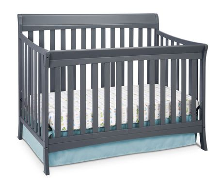 Storkcraft avalon 4 in 1 convertible crib for Child craft convertible crib instructions