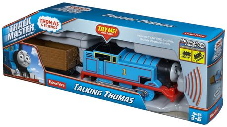 Fisher Price Thomas The Train Trackmaster Talking Thomas