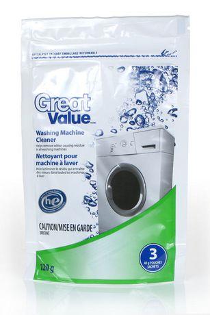 Great Value Washing Machine Cleaner He Walmart Canada