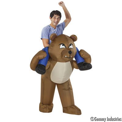 Gemmy Industries Angry Bear Inflatable Costume by Gemmy Industries