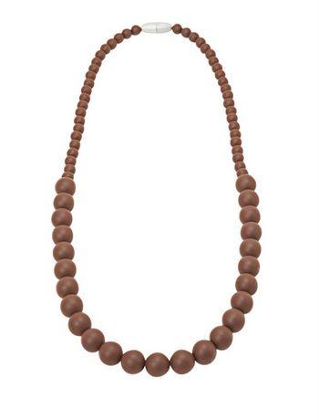 tiny teethers teething necklace brown walmart ca