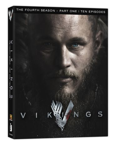 dvd viking s saison 4 partie 1 anglais. Black Bedroom Furniture Sets. Home Design Ideas