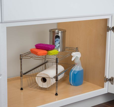 organisateur sous armoire. Black Bedroom Furniture Sets. Home Design Ideas