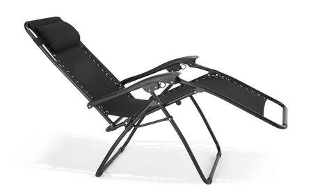 Chaise de type z ro gravit de mainstays for Chaise 0 gravite