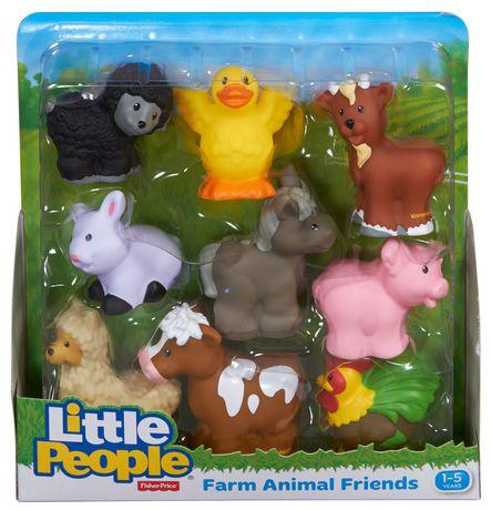 Fisher Price Little People Farm Animal Friends Toy Walmart Ca