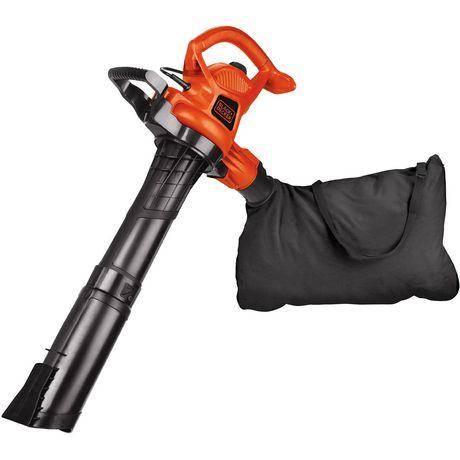 Black Decker 12 Amp High Performance Blower Vacuum Mulcher