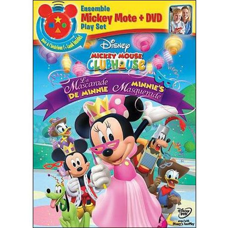 Mickey Mouse Clubhouse Minnie S Masquerade With Mickey