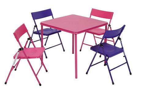 Cosco Kid S Folding Table Amp Chair Set Walmart Canada