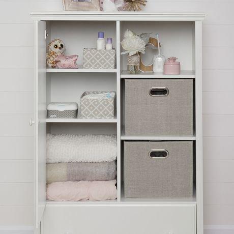 South shore cotton candy armoire de rangement avec tiroir for Armoire de rangement avec tiroir