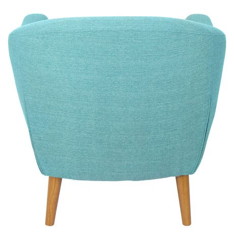 Lumisource Teal Rockwell Chair Walmart Canada
