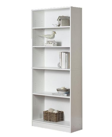 Mainstays 5 Shelf Bookcase Walmart Ca